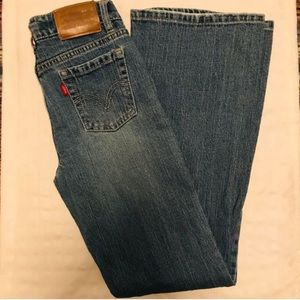 Levi's | Girl's Slim Fit Stretch Flare Jeans